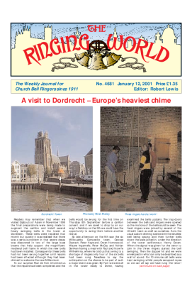 The Ringing World issue 4681