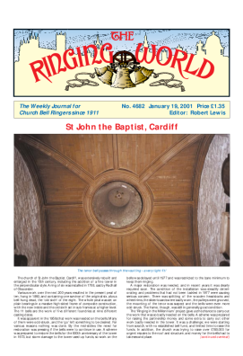 The Ringing World issue 4682