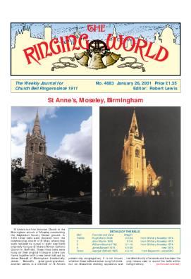 The Ringing World issue 4683
