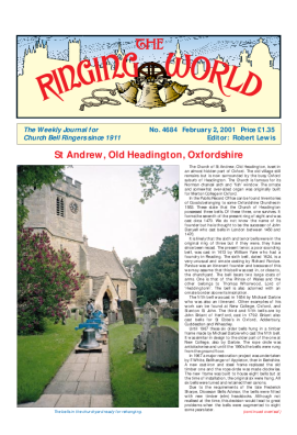 The Ringing World issue 4684