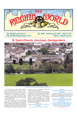 The Ringing World issue 4687