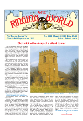 The Ringing World issue 4688