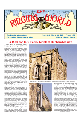 The Ringing World issue 4690