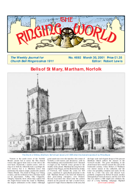 The Ringing World issue 4692