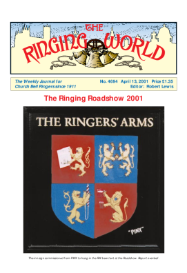 The Ringing World issue 4694