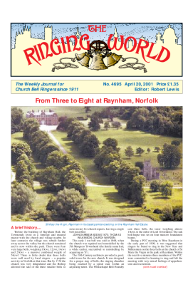 The Ringing World issue 4695