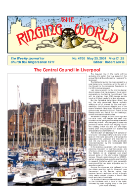 The Ringing World issue 4700