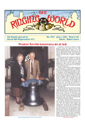 The Ringing World issue 4701