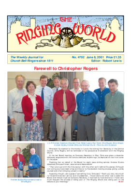 The Ringing World issue 4702