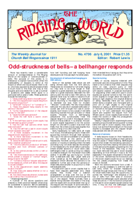 The Ringing World issue 4706