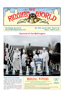 The Ringing World issue 4709