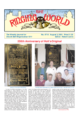 The Ringing World issue 4710