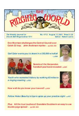 The Ringing World issue 4712