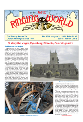 The Ringing World issue 4714