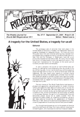 The Ringing World issue 4717