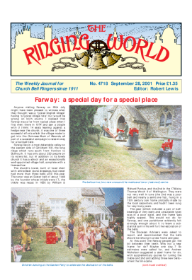 The Ringing World issue 4718