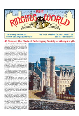 The Ringing World issue 4721