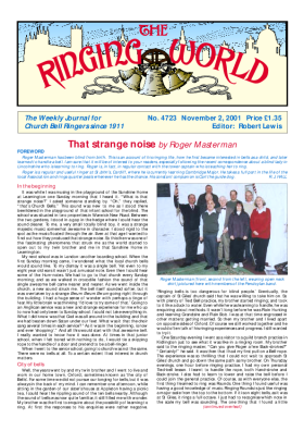 The Ringing World issue 4723