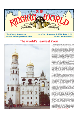 The Ringing World issue 4724