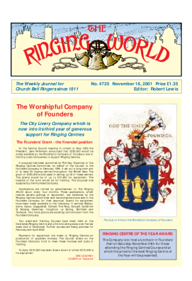 The Ringing World issue 4725