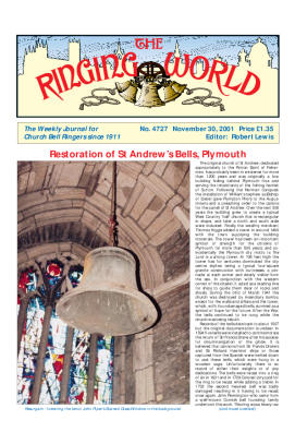 The Ringing World issue 4727