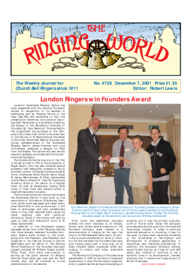 The Ringing World issue 4728