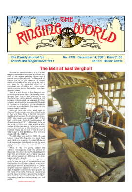 The Ringing World issue 4729