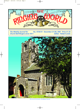 The Ringing World issue 4730