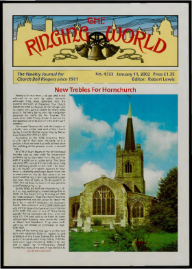 The Ringing World issue 4733