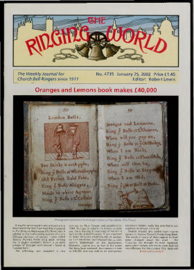The Ringing World issue 4735