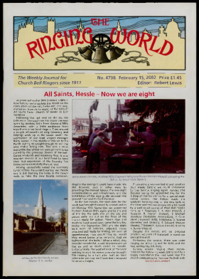The Ringing World issue 4738