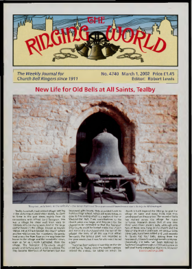 The Ringing World issue 4740