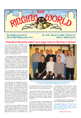 The Ringing World issue 4742