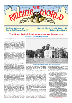 The Ringing World issue 4743