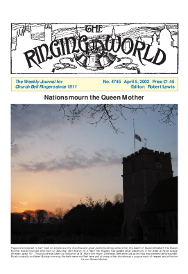 The Ringing World issue 4745