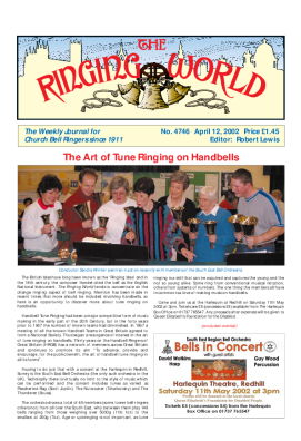 The Ringing World issue 4746