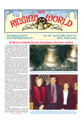 The Ringing World issue 4747