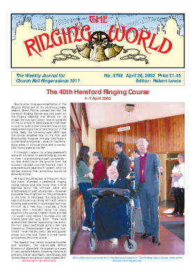 The Ringing World issue 4748