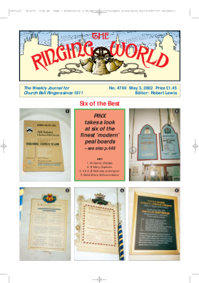 The Ringing World issue 4749