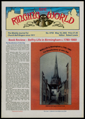 The Ringing World issue 4750