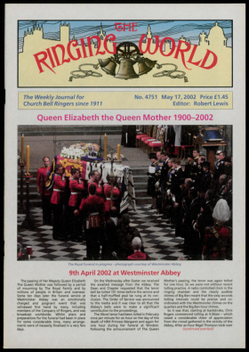 The Ringing World issue 4751