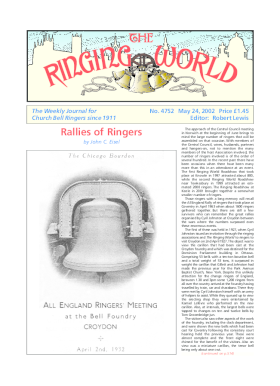 The Ringing World issue 4752