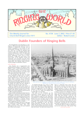 The Ringing World issue 4754