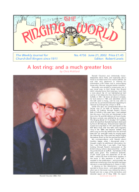 The Ringing World issue 4756