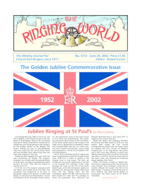 The Ringing World issue 4757