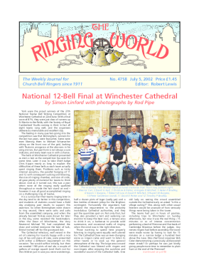 The Ringing World issue 4758