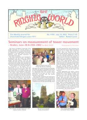 The Ringing World issue 4760