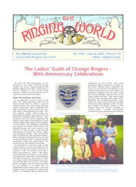 The Ringing World issue 4761