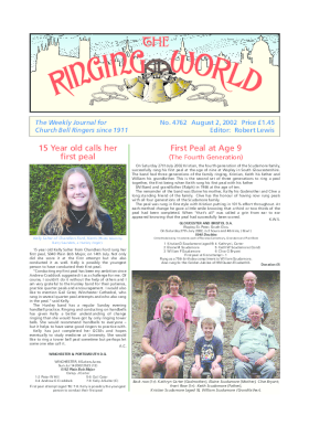The Ringing World issue 4762