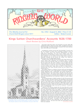 The Ringing World issue 4763